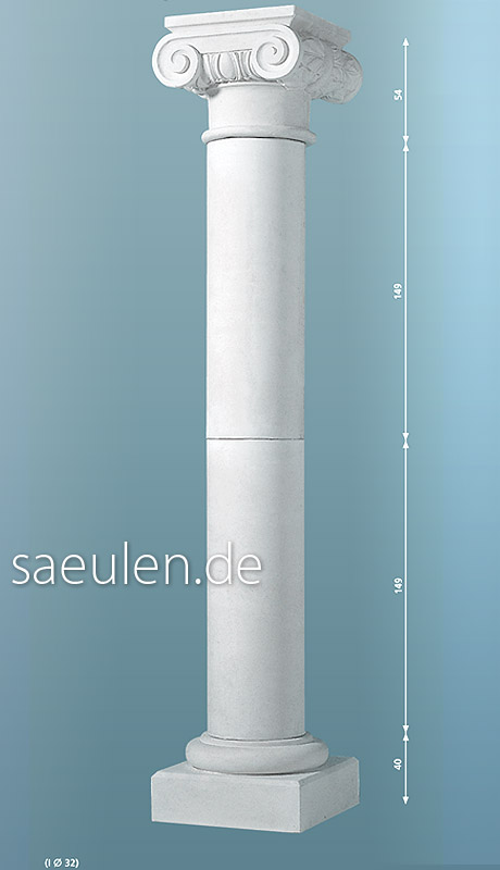 10 Meter Säule