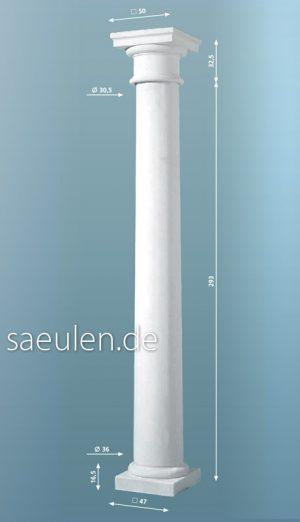 dorische Säule 3,25m